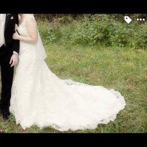 Allure bridal wedding dress